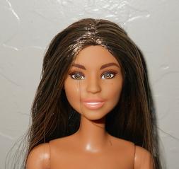 Barbie Doll Brunette Long Hair Fashionista