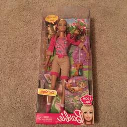 Mattel Barbie Doll I Can Be Zoo Keeper 2012