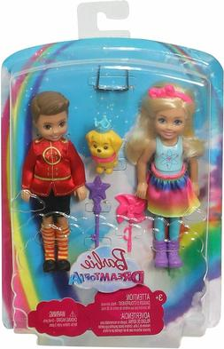 Barbie Dreamtopia Chelsea Doll Otto Playset + Mermaid Playse