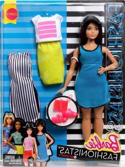 Barbie Fashionistas Doll & Fashions So Sporty, Curvy Dark-Ha