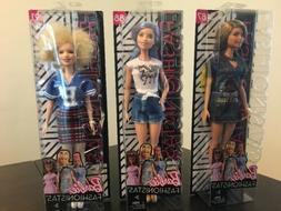 Barbie Fashionistas Doll Lot Albino Varsity 91 LA Rock 87 Un