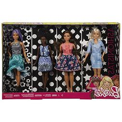 Barbie Fashionistas Dolls 4-Pack