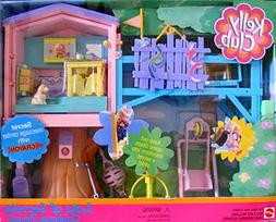 Barbie KELLY LOTS OF SECRETS CLUBHOUSE Playset CLUB HOUSE w