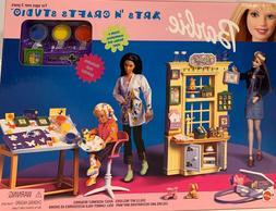 Barbie Kelly Arts N Crafts Studio Playset 67389 Mattel 1999