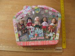 Barbie Kelly Club 5 Holiday Bunch 2005 Mattel MIB doll set