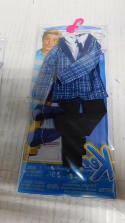 Barbie Ken Doll Plaid Fashion