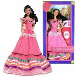 Barbie Mexico 2012 with chihuahua Passport Dolls of the Worl