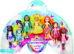 Barbie Rainbow Chelsea, 7 Pack