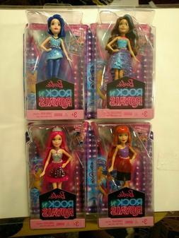 Barbie Rock & Royals 4 Inch Mini Dolls