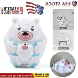 Bath Toys For Boys And Girls - Water Spray Bear Set For Todd