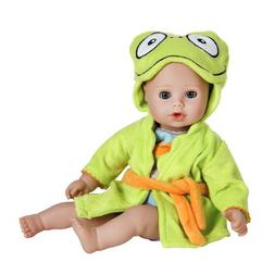 "Adora BathTime Baby ""Frog"" 13"" Fun Kids Bathtub Water /"
