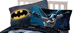 Batman Standard Size Reversible Pillowcase Set