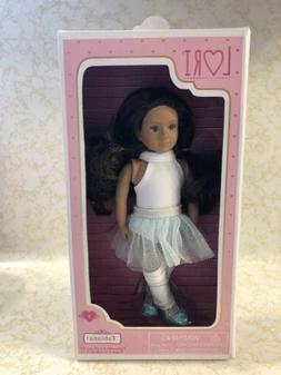 "Our Generation Battat Lori FABIANA Ballerina 6"" Doll NEW"