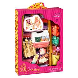 "Beach Accessory Set for 18"" Dolls -Our Generation ""Day at th"