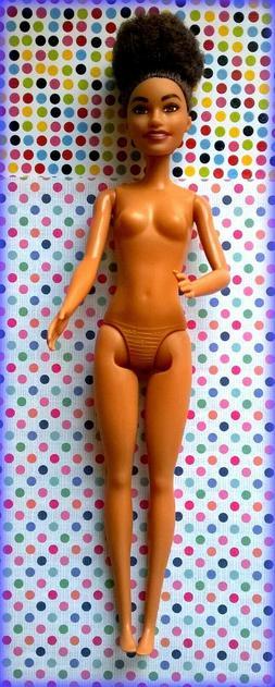 Barbie beautiful Brunette doll Nude *Deboxed*