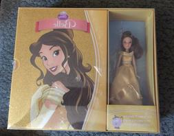 Disney Beauty And The Beast Belle Book And Doll Set New!
