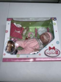 "JC Toys Berenguer Boutique 15"" Soft Body Baby Doll - Pink 10"