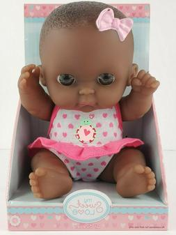 Berenguer My Sweet Love Lil Cutesies Baby Doll Dark Brown Ey