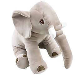 Tiny Trunky Big Soft Baby Elephant Plush Toy - Stuffed Eleph