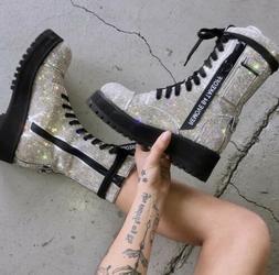 Billionaire Bling Boots by Dolls Kill  Women Size US Multipl