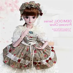 BJD Doll 60cm/24inch Princess Bride For Girl's Gift and Doll