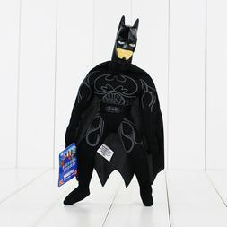 "Justice League Black Batman 9"" inches Plush Doll with Plasti"