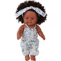 Black Girl Dolls African American Baby Toys 12 inch Infant P