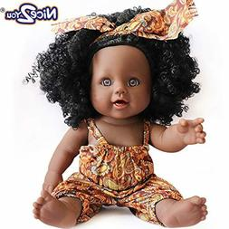 Black Girl Dolls Fashion African American Doll Lifelike 12 i