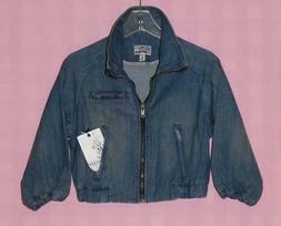 Dollhouse Blue Denim Jean Jacket Ladies/Missy. Size: Small