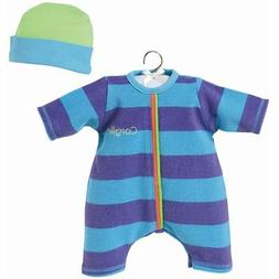 Corolle Fashions 17-Inch Blue Striped Set