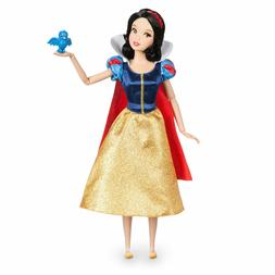 BNIB Disney Store Princess Snow White Classic Doll w/ Bluebi