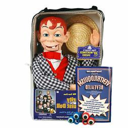 Bonus Bundle! Mortimer Snerd Ventriloquist Dummy Doll - New!