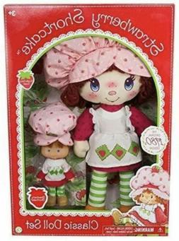 "Boxed Gift Set Strawberry Shortcake Retro Classic 15"" Rag +"