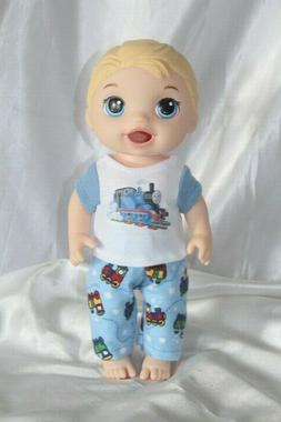 Boy Doll Clothes fits 12 inch Baby Alive Dolls T Shirt Pants