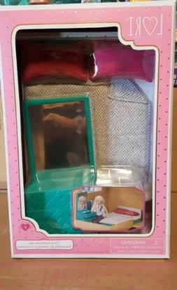 Brand New Our Generation Lori Doll Cozy Bedroom Furniture Se