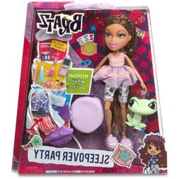 Bratz Sleepover Party Yasmin Doll with Pet & Accessories 10""