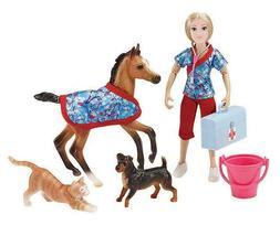 Breyer Classics Day at The Vet Doll & Animals Set