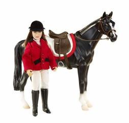 Breyer Horses Classics Size Chelsea Show Jumper Doll Girl En