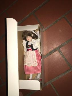 Brunette Antique Doll for Young Girls