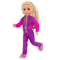 Glitter Girls by Battat - Shine and Dash Outfit -14-inch Dol