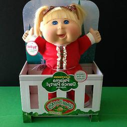 Cabbage Patch Kid Electronic Holiday Pajama Dance Party Todd