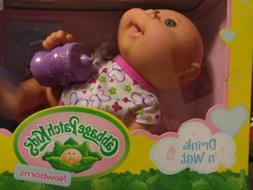 Cabbage Patch Kids Newborns Drink N' Wet Doll - FREE SHIPPIN