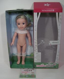 Camille Nude NEW In Box Doll: American Girl 14.5  Wellie Wis