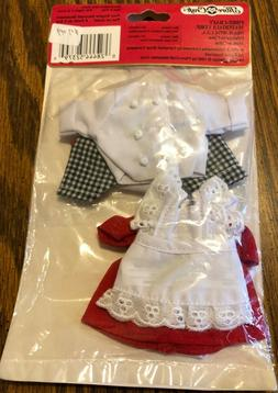 "Campbell Kids Ready To Wear Chef Outfits for Boy & Girl 5"" D"