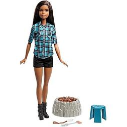 Barbie Camping Fun Doll, Brunette