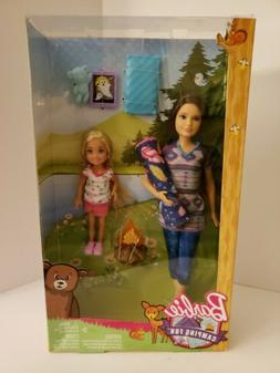 Barbie Camping Fun Skipper and Chelsea Dolls Campfire Playse
