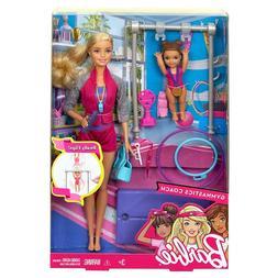 Barbie Careers Gymnastic Coach Playset