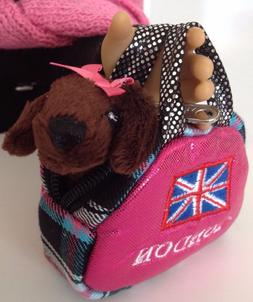 Carrier Purse & Dog for American Girl Doll Accessories Fit 1
