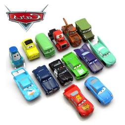 Cars 14 PCS Action Figure Lightning McQueen Mater Sally PVC