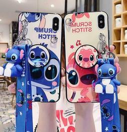 Cartoon Disney Stitch Soft Phone Case Cover For iPhone11Pro